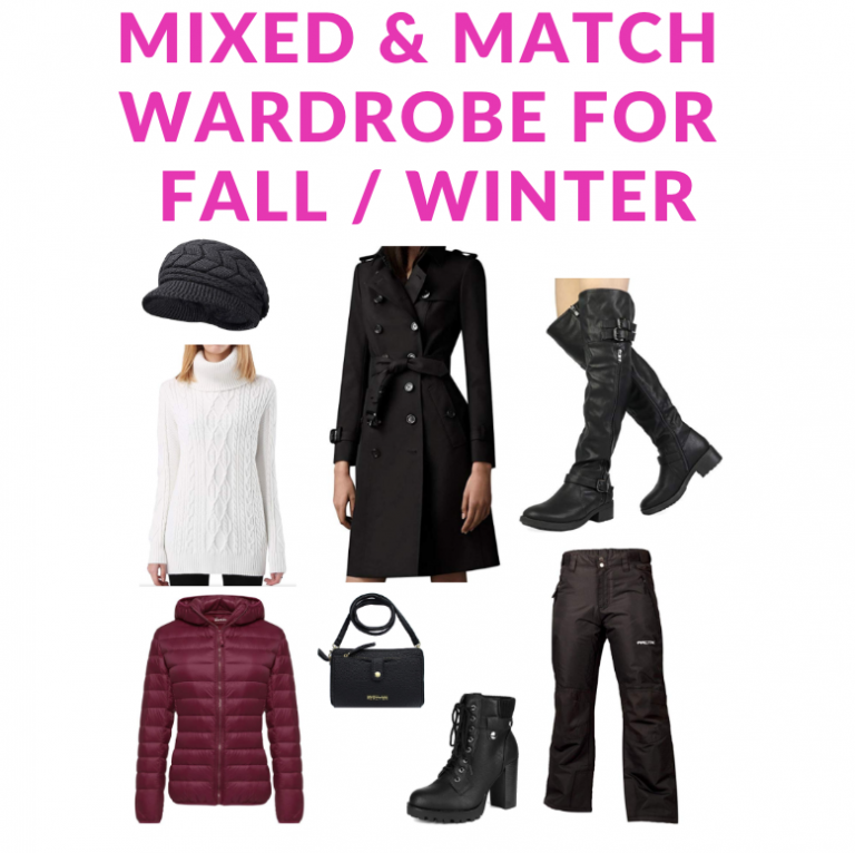 Great Buys – Mixed And Match Wardrobe For Fall