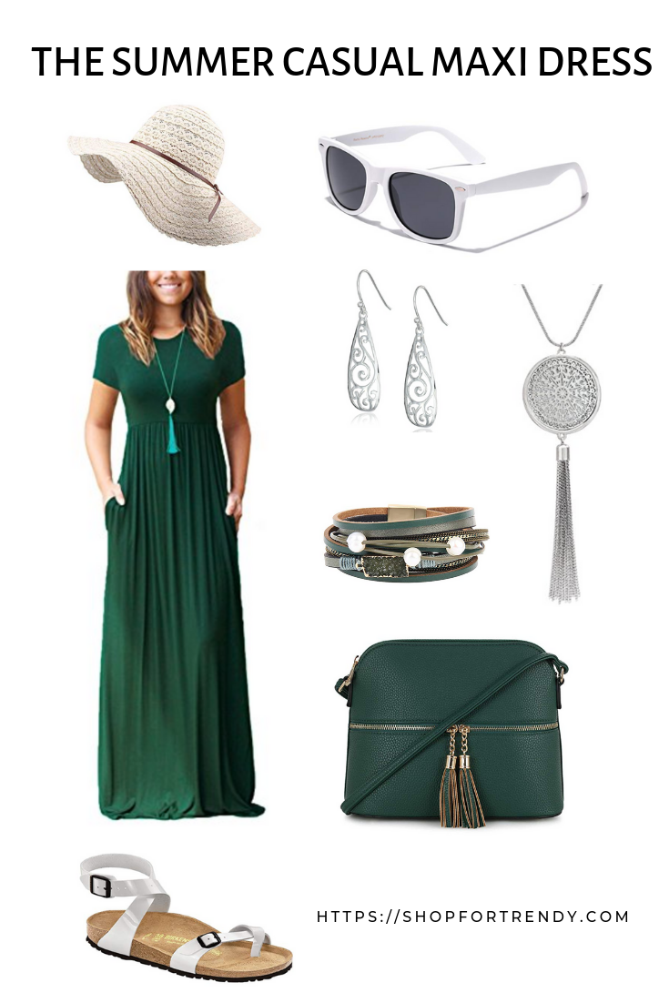 THE SUMMER CASUAL MAXI DRESS