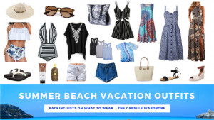 Summer Beach Vacation Outfits