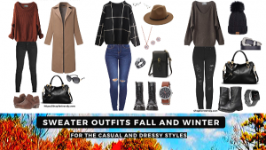 Sweater Outfits Fall and Winter – For Casual and Dressy
