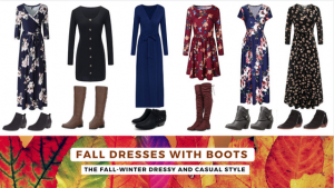 Fall Dresses With Boots – For The Dressy And Casual